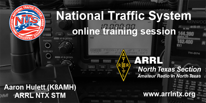 NTS training header